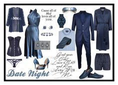 """Date night 💕💋💕"" by melissa-clark-2 ❤ liked on Polyvore featuring Gucci, Badgley Mischka, Balmain, John Hardy, Blue Nile, Movado, Agent Provocateur, Polo Ralph Lauren, Derek Rose and Ray-Ban"