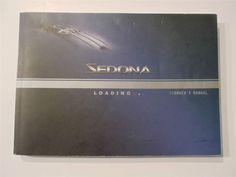 2004 Kia Sedona Owners Manual Book