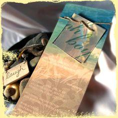 #rositadesigns custom baby shower invitations #tropical #hawaii #aloha #boy #sand #beach