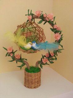 handmade decoration piece – Home Decoration Nylon Flowers, Diy Flowers, Paper Flowers, Diy Home Crafts, Crafts For Kids, Arts And Crafts, Handmade Decorations, Handmade Crafts, Deco Nature