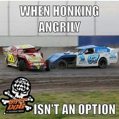 And this was at our track in Longdale Dirt Car Racing, Nascar Racing, Auto Racing, Car Memes, Car Humor, Custom Motorcycles, Custom Baggers, Triumph Motorcycles, Custom Bikes