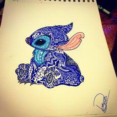 Stitch Zentangled