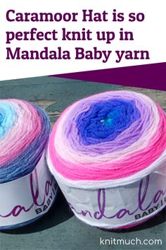 Looking at the newest member of the Mandala family of yarns, Lion Brand Mandala Baby yarn and its characteristics.💜😍 Also in this post is the free knitting pattern Caramoor using two colors for contrast. #Lionbrand #Lionbrandyarn #Yarn #Yarnaddict #Knittingtutorials Double Knitting, Free Knitting, Knitting Patterns, Aran Weight Yarn, Lion Brand Yarn, Pattern Making, Yarns, Mandala, Contrast