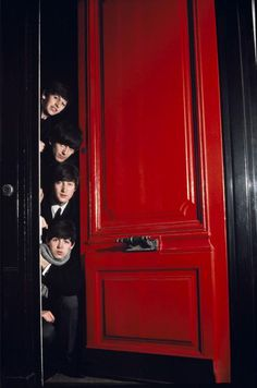 The Beatles photographed by Jean-Marie Perier, 1964.