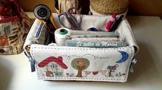 The workshop Maricu: wicker basket-sewing. Sewing Case, Sewing Box, Sewing Notions, Sewing Crafts, Sewing Projects, Craft Presents, Sewing Room Organization, Organize Fabric, Sewing Baskets