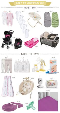 What's on My Baby #2 Shopping List? | Hellobee