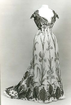 Dress Date: 1899 Culture: French Medium: silk.