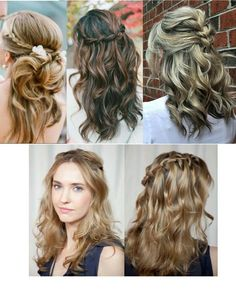 Differents styles! Braid hair