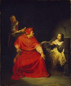 Jeanne d'Arc dans sa prison Delaroche Paul