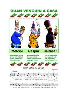 Ses Meves Feinetes: Quan venguin a casa. Christmas Carol, Comics, Crafts, Kids Songs, School, Xmas, Spanish, Activities, Rosario