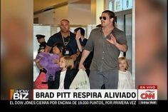 ShowBiz; Brad Pitt Respira Aliviado, Se Cierra La Investigación En Su Contra Por Supuesto Abuso Infantil