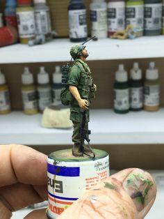 US Marine 1/35 scale Pete Usher