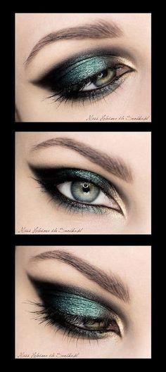 Voici 10 idées de maquillage pour sublimer les yeux verts ! Lequel choisiriez-vous pour votre mariage ? Partagez toutes vos idées ! 1. 2. 3. 4. 5. 6. 7. 8. 9. 10. Retrouvez aussi 10 maquillages pour: Les yeux bleus: