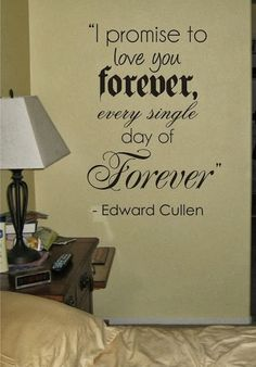I promise to love you forever every single day of forever | Inspirational Quotes
