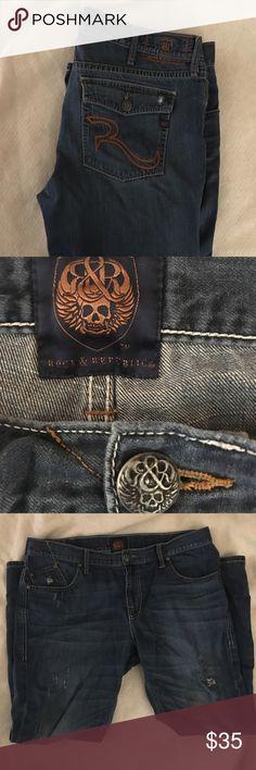ROCK & REPUBLIC ROCK & RUPUBLIC Jeans Great Condition Rock & Republic Jeans Relaxed