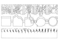 "De ""Manhattan Transcripts"". Cortesia de The Architectural Review"