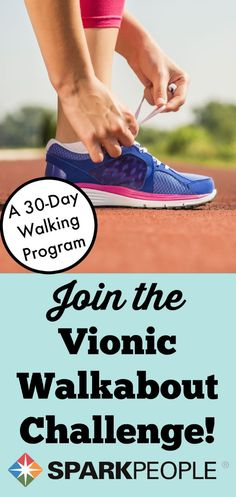 Step Into Shape with the 30-Day Walkabout Challenge! Who wants to do this with me??| via @SparkPeople #challenge #fitness #walking #getfit #workoutplan