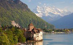 2: Chateau Chillon, Switzerland  Picture: ALAMY
