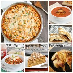 75+ Fall Comfort Food Favorites: The Savory Edition by Tracey's Culinary Adventures