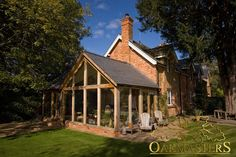 Use an oak framed garden room to enhance your home.