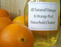 vinegar orange peel