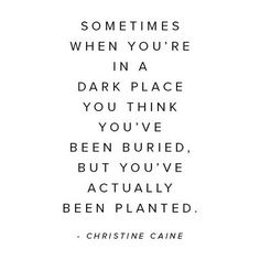 Bloom Where You Are #sometimes #dark #place #you #scared #unknown #future #trust #god #universe #happy #blessed #life #today #grow #bloom #amazing #success #own #best #self #letgo #anxiety #believe #magic #truth #quote #qotd #selflove #thebehappyproject