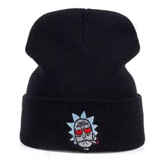 Schwifty Baseballcap Rick and Morty Cartoon Broderie Coton Unisexe Chapeau