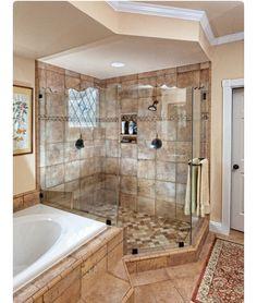 Tub and shower idea