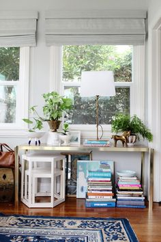 Emily Henderson — Stylist - BLOG - How to make your small office space look and feel bigger, (and happier)