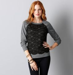 Need sweaters like this to throw on with skinny jeans, an anorak and flats!