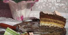 Tort Extasy cu patru feluri de bezea Food Cakes, Cake Recipes, Deserts, Awesome, Cakes, Easy Cake Recipes, Kuchen, Postres, Dessert