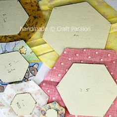 Tutorial: How To Draw Hexagon For Quilt Block