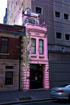 Narrow House, Sydney, New South Wales, Australia. Beautiful Buildings, Beautiful Homes, Beautiful Places, Australia Travel, Melbourne Australia, Western Australia, South Australia, Queensland Australia, Oh The Places You'll Go