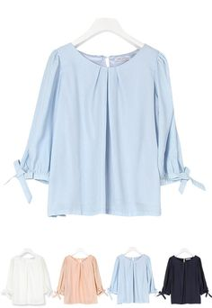 #sleeves #top #knot #butterfly