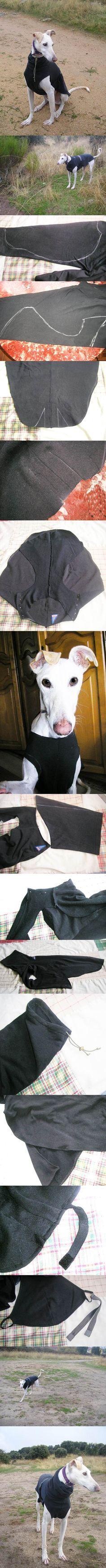 DIY Dog Coat 2
