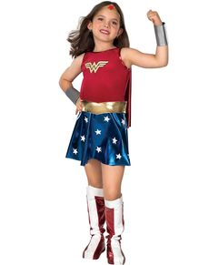 Costume de Wonder Woman Classic fille
