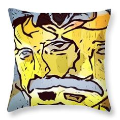 Freak Out Pillow by Riz by IconOcups on Etsy