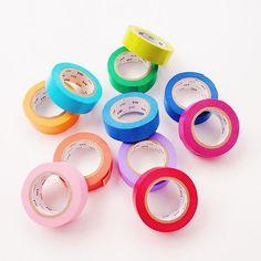 A rainbow of washi!