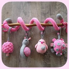 Amigurumi Teether Models – Sena Yılmaz – Join the world of pin Crochet Baby Toys, Crochet Amigurumi, Crochet For Kids, Amigurumi Patterns, Crochet Animals, Crochet Dolls, Baby Knitting, Free Crochet, Knit Crochet