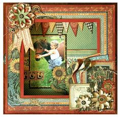 Learn how to make this French Country shadowbox with a great free project sheet #graphic45 #projectsheets