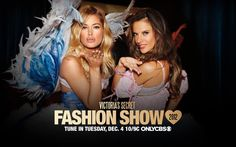 Follow all the #VSFashionShow action right here.  Starting Tuesday night!