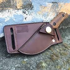 Image result for how to make a leather crossdraw knife sheath