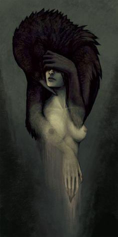 crow raven #dailyconceptive #diarioconceptivo