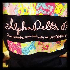 Lilly Sorority Shirts