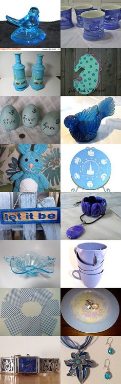 Blues N More Blues by Karen and Tammy on Etsy--Pinned with TreasuryPin.com