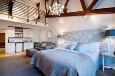 Unit 5A:  Studio style main bedroom/lounge & kitchenette.