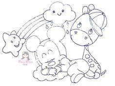 Baby Mickey, Mickey Mouse, Disney, Coloring Pages, Safari, Hello Kitty, Lily, Clip Art, Kids Rugs