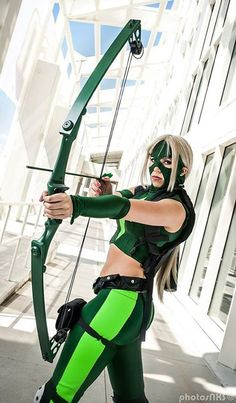 Artemis from Young Justice #Cosplay