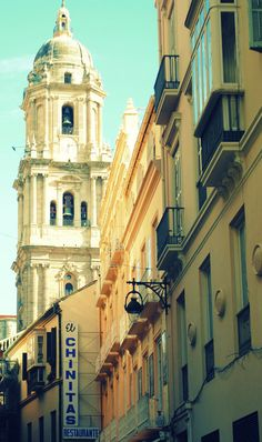 Items similar to Cathedral in Malaga, Spain on Etsy Andalucia Spain, Malaga Spain, Seville Spain, Rest Of The World, Travel Around The World, Around The Worlds, Places To Travel, Places To See, Malaga City
