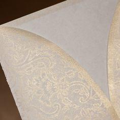 Lovely Champagne Tri-Fold Classic Ribbon Vertical Wedding Invitations, 100 pcs/lot  Folded,Tri-Fold,Envelope,Inner Sheet,Seal,Side Fold,Ribbon,Classic,Vertical,Champagne,  US$200.00